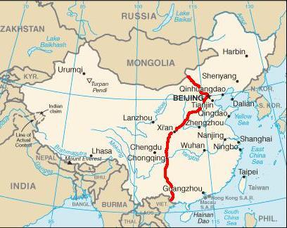kart over den kinesiske mur erdetlangtigjen.no kart over den kinesiske mur